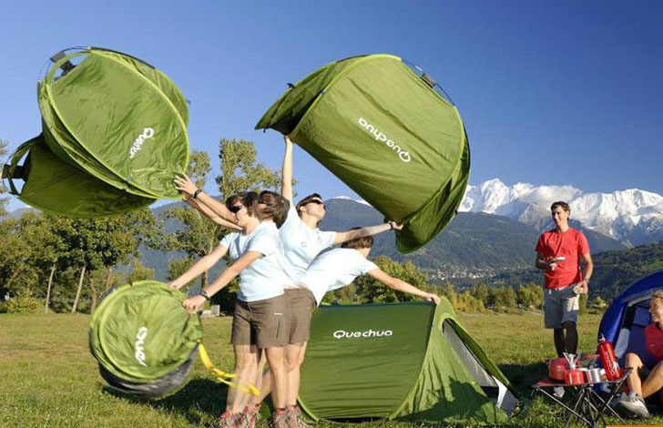 Decathlon 2 Second Pop Up Tent