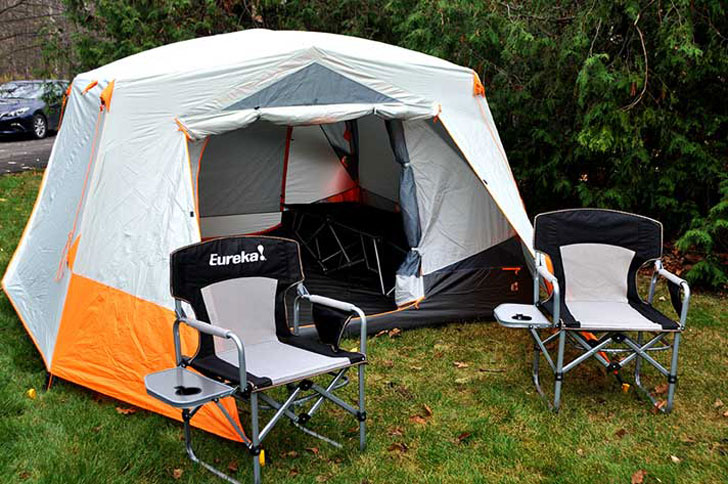 Eureka Silver Canyon 6 Tent - COOL TENTS FOR CAMPING & 40+ Cool Tents For Camping u0026 Festival Adventures - Awesome Stuff 365