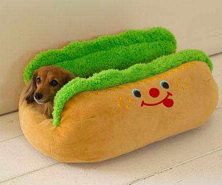 Hot Dog Sofa Pet Bed