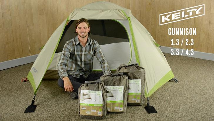 Kelty Gunnison 3.3 Tent