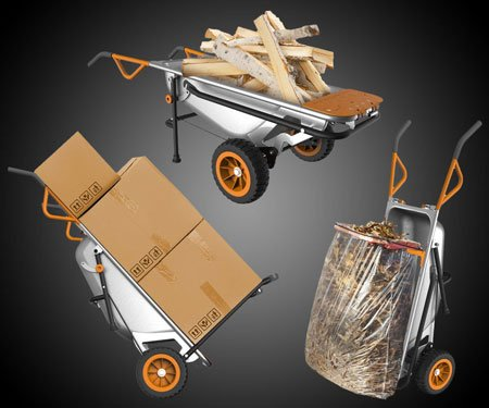 Multi-Purpose Wheelbarrow