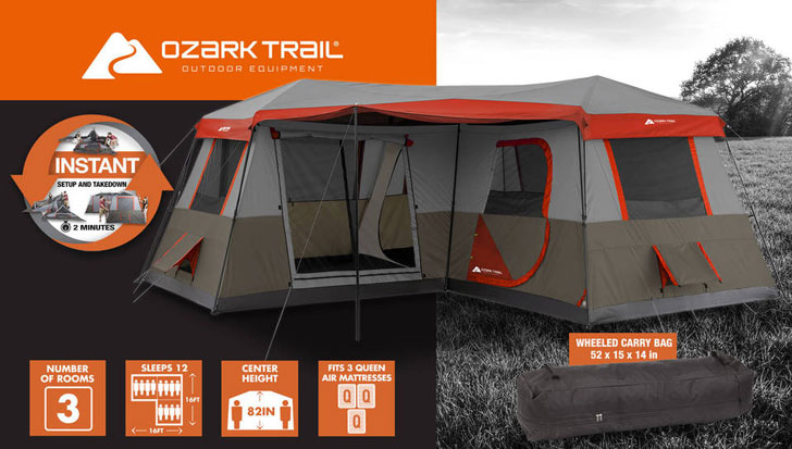Ozark Trail 16x16-Feet 12-Person