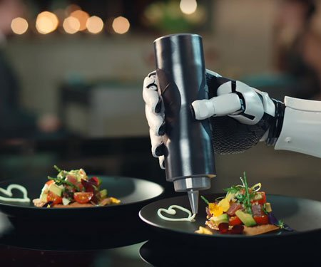 Robotic Kitchen Chef