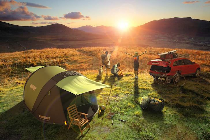 Solar Pop Up Tents - AWESOME TENTS FOR CAMPING