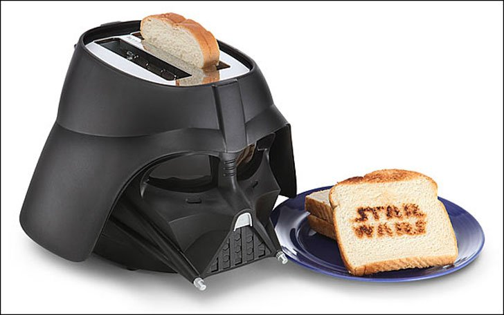 star wars toaster - quirky kitchen accessories