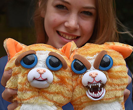 Sweet To Scary Stuffed Animals
