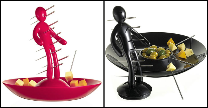 the ex skewer set - quirky kitchen gadgets