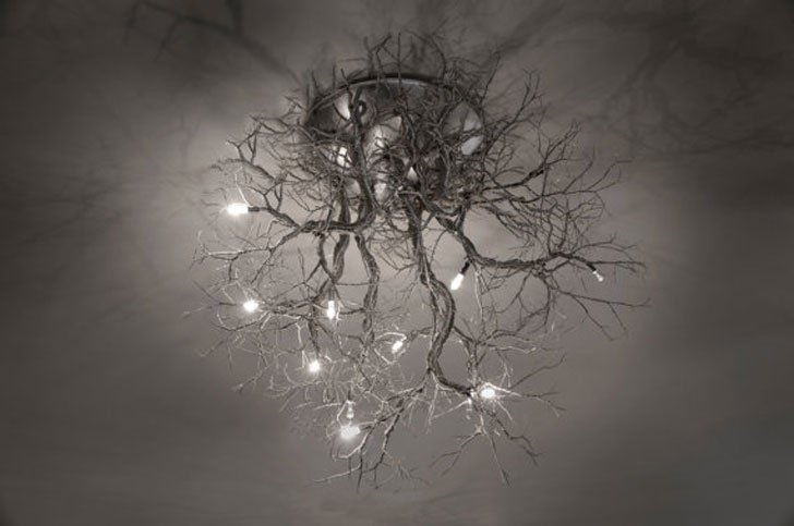 Tree Root Chandelier