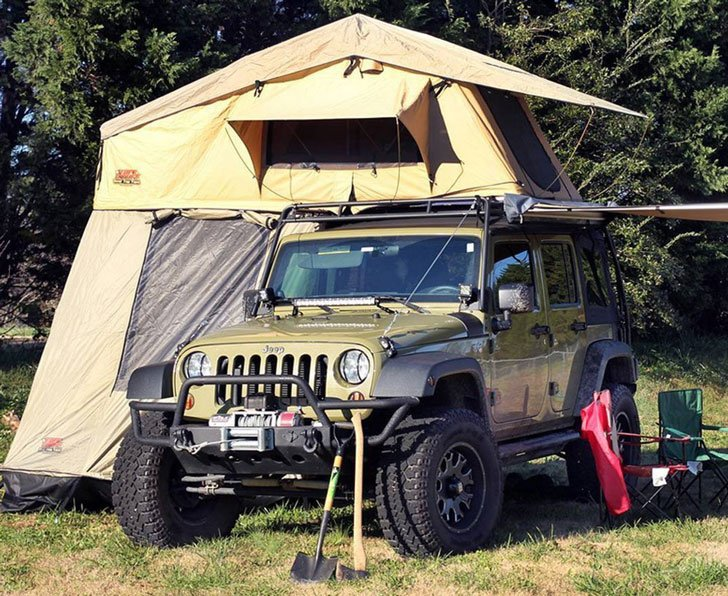 Tuff Stuff Overland Rooftop Camping Tent