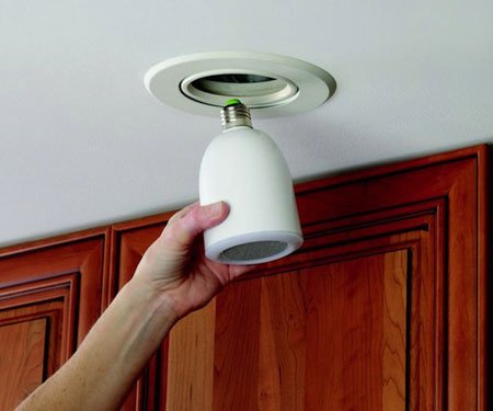 Wireless Light Bulb Speaker