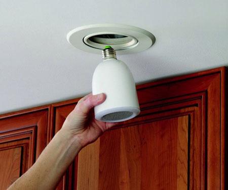 Wireless Light Bulb Speaker