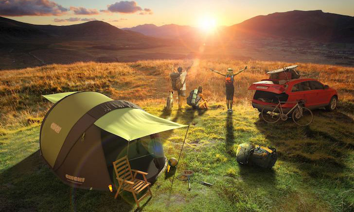 cool tents for camping
