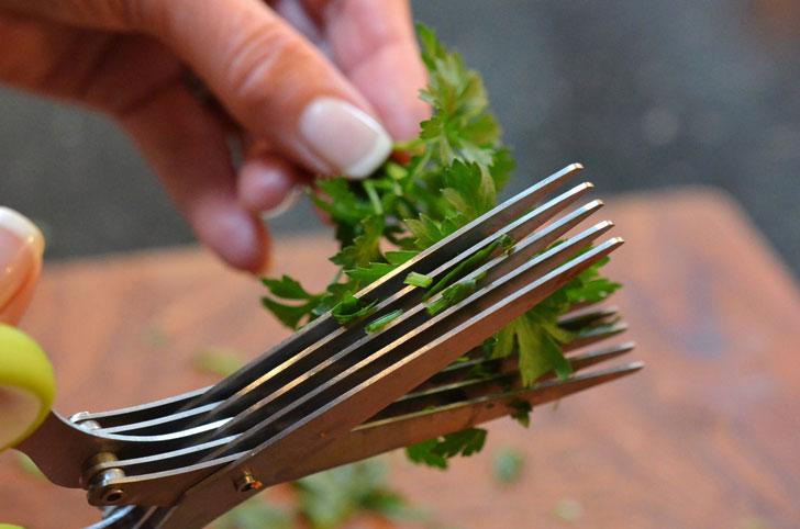 herb scissors - unique kitchen gadgets