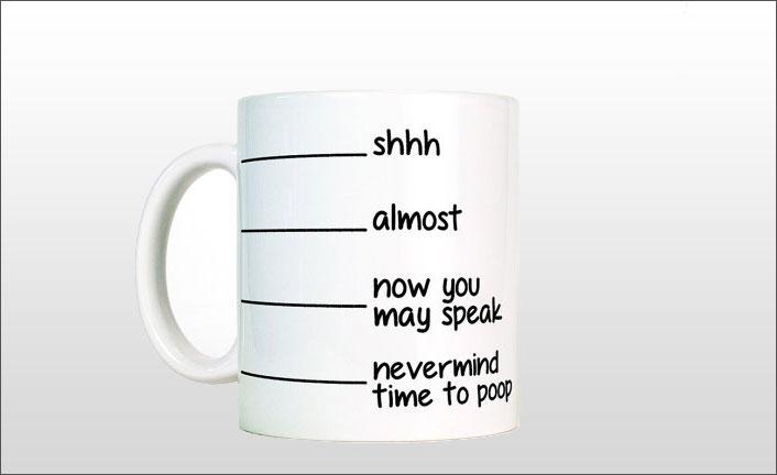 funny mug - unique kitchen gadget