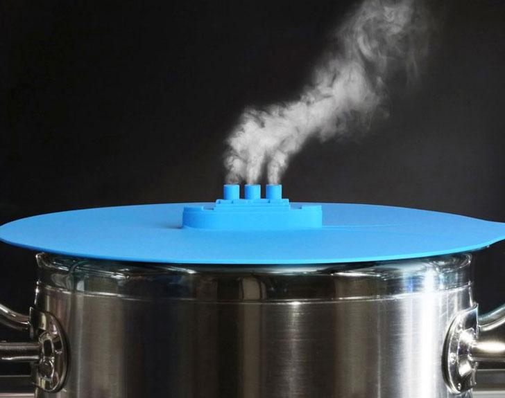steam ship pot lid