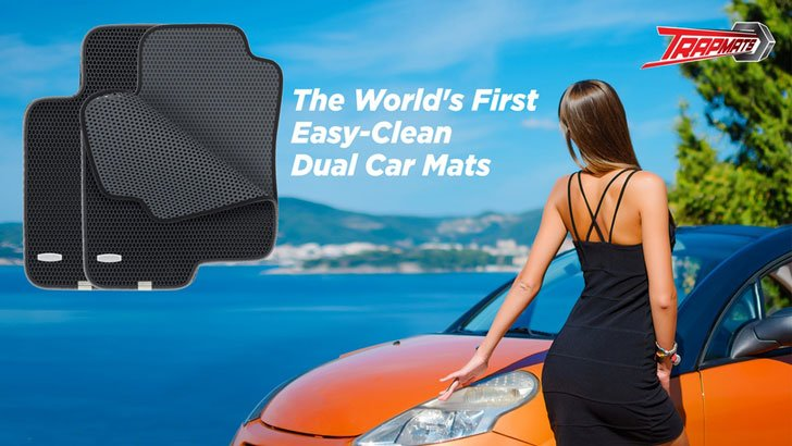 Easy-Clean Dual Car Mats