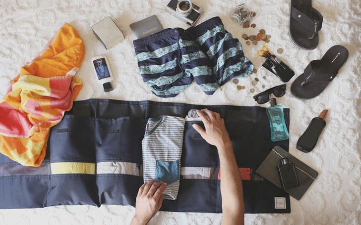Portable Camping Clothes Organizer