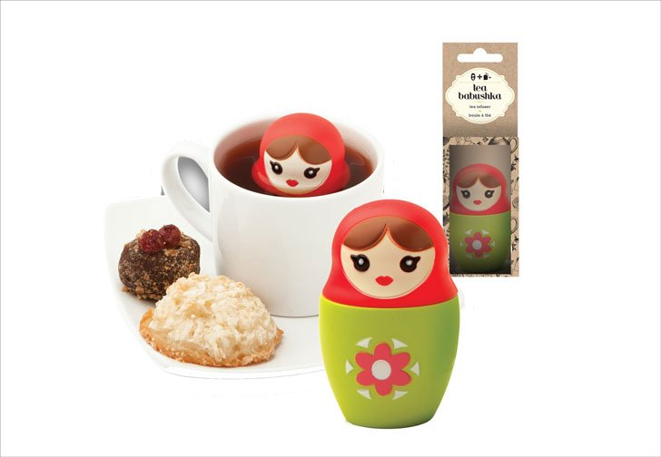 Babushka Russian Nesting Doll Tea Infusers