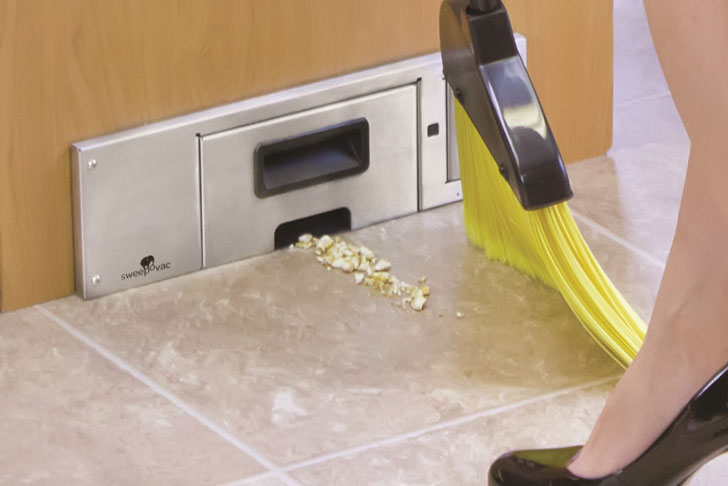 Built-in Kitchen Vacuum