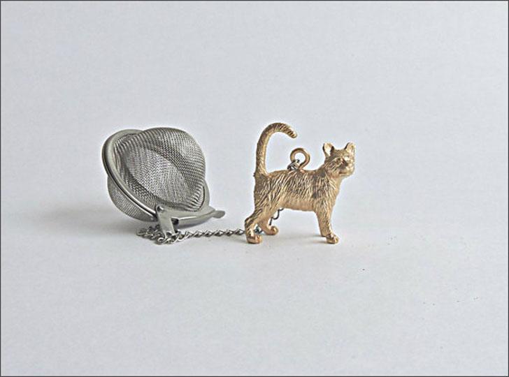 Cat Teaball Infuser