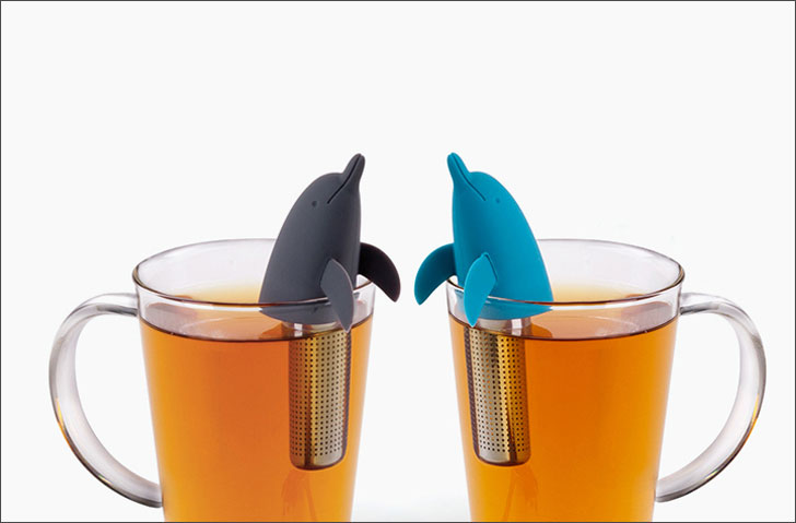 dolphine tea infuser - cute tea infusers