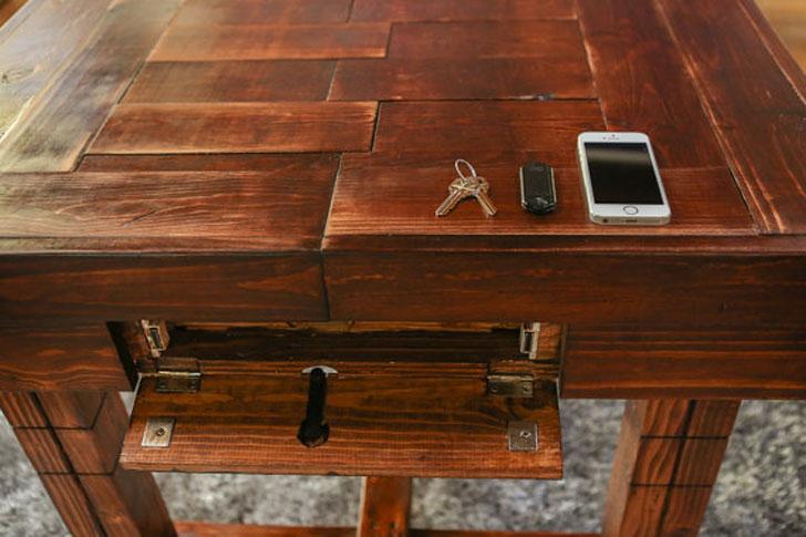 Firearm Cabinet Coffee Table