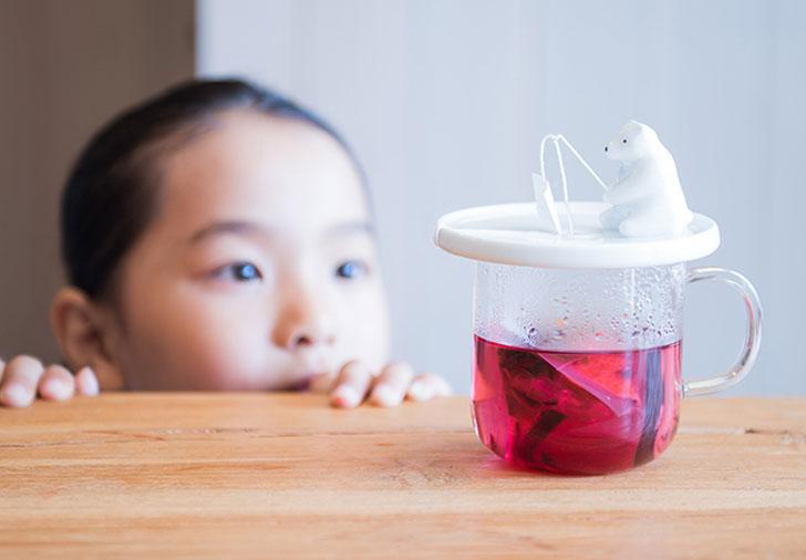 cutest te ainfuser - Fishing Polar Bear tea infuser