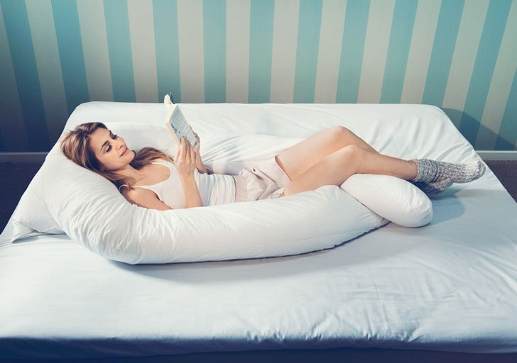Giant U-Shaped Body Pillow