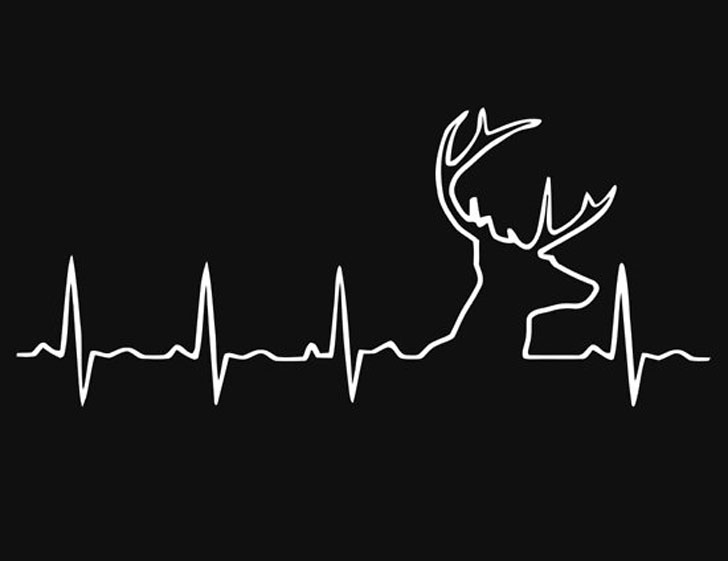 Hunting Heart Beat T-Shirt