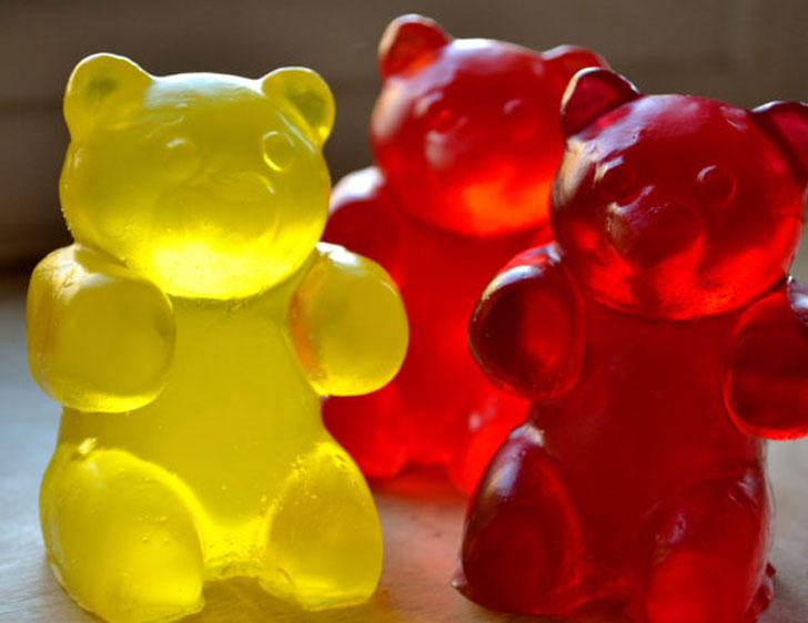 Large Gummy Bear Soap