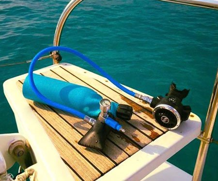 Mini Scuba Dive Tanks