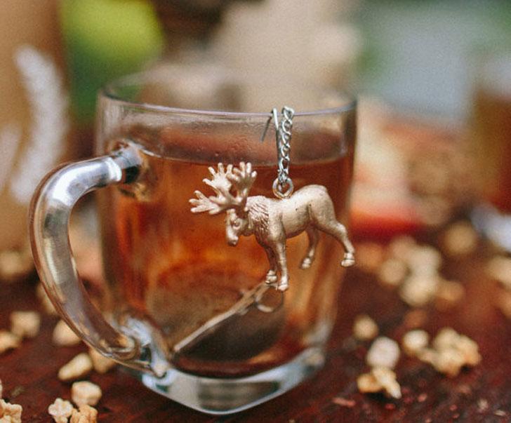Moose Tea Ball Infuser