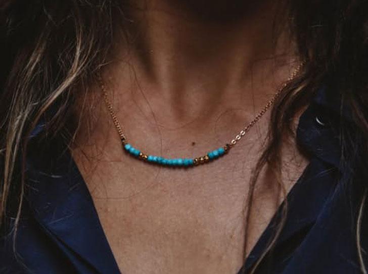Morse Code Love Necklace