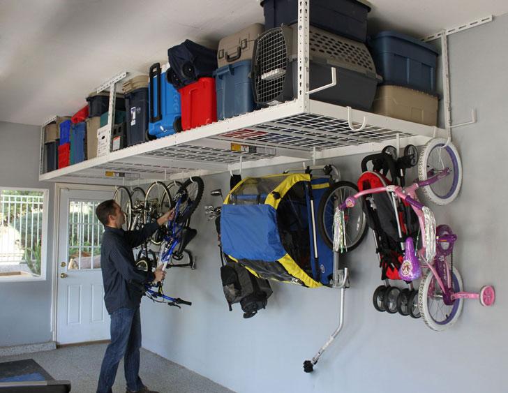 Overhead Garage Storage Rack