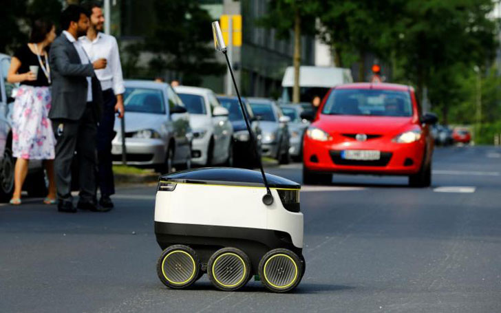 Personal Delivery Service Robot