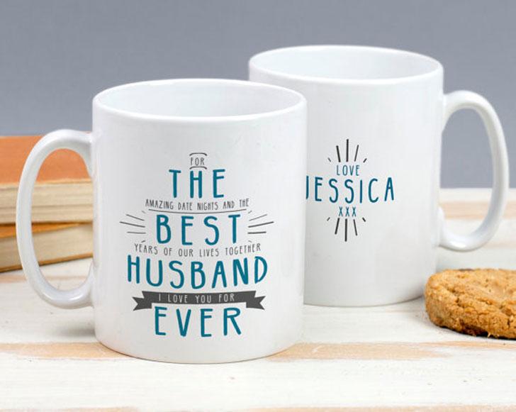 Personalized Best Husband Ever Mug