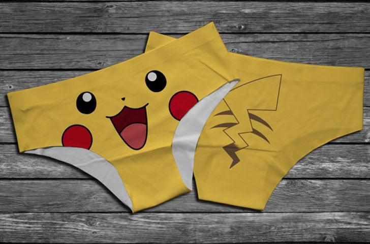 Pikachu Pokemon Panties