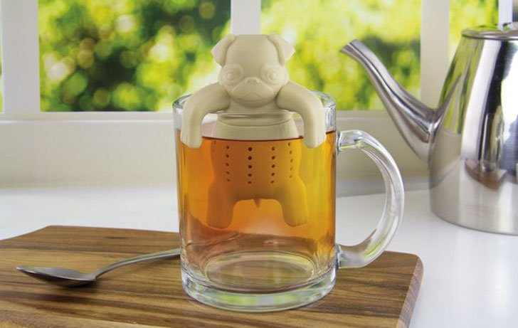 Pug In A Mug Tea Infuser - cute tea infusers