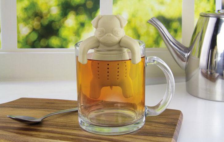 Pug In A Mug Tea Infuser - cute tea infusers
