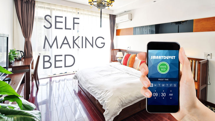 Self-Making Bed