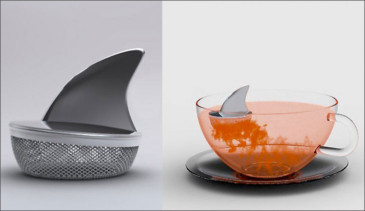 Shark Fin Tea Infuser - cutest tea infusers