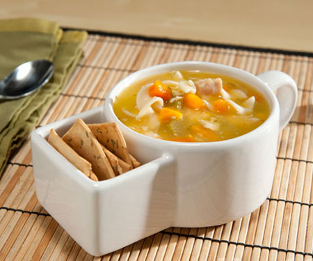 Soup & Cracker Mug Set
