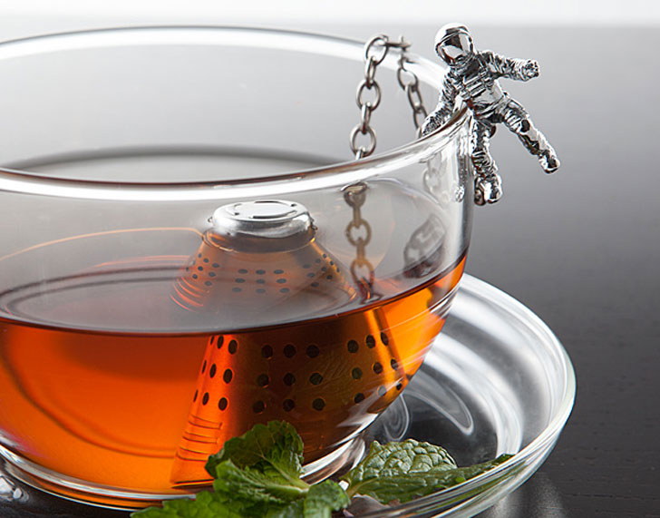 #10 Space Capsule Tea Infuser - unique tea infusers