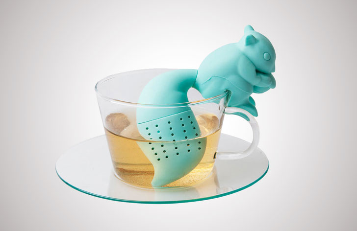 cutest tea infusers - Squirrel Tea Infuser