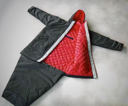 the sleeping bag coat