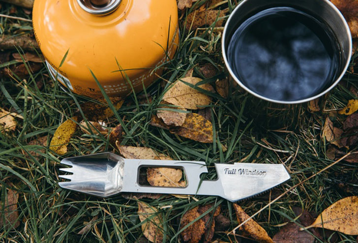 Titanium Outdoor Multi-Utensil