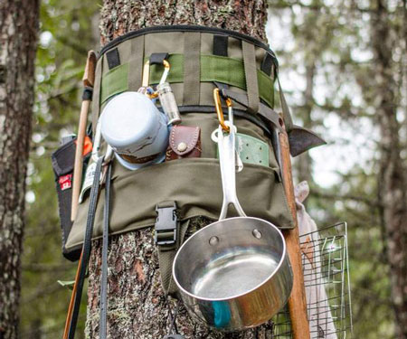 Tree Hugging Storage System
