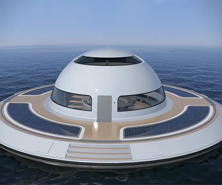 UFO Floating Home
