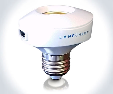 USB Light Socket Phone Charger