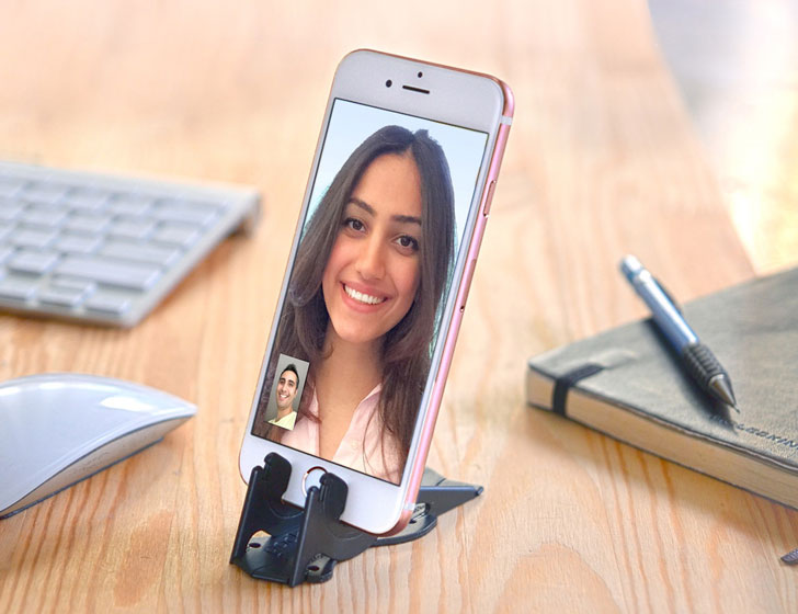 Wallet-Sized Phone Mount